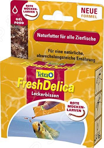Корм для тропических рыб Tetra Fresh Delica Bloodworms