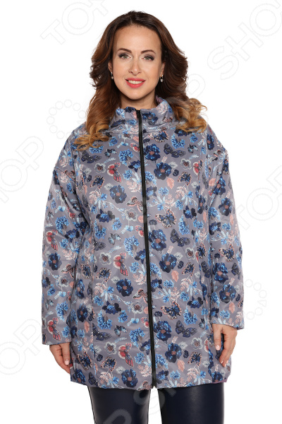 Куртка Гранд Гром «Весенний привет». Цвет: серый