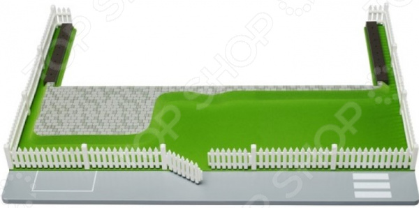 Дополнительные аксессуары к кукольному домику Lundby «Участок к домику Смоланд. Зеленый газон»