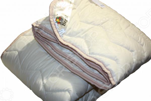 Одеяло облегченное BegAl «Волны». Цвет: бежевый