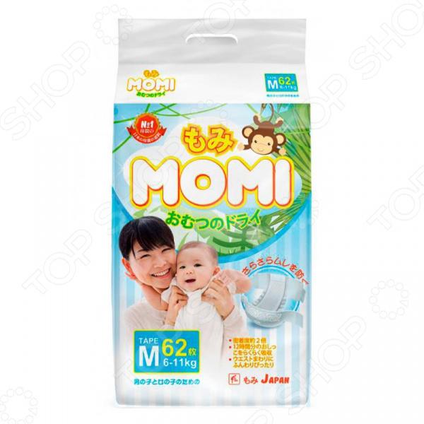 Подгузники MOMI М (6-11 кг)