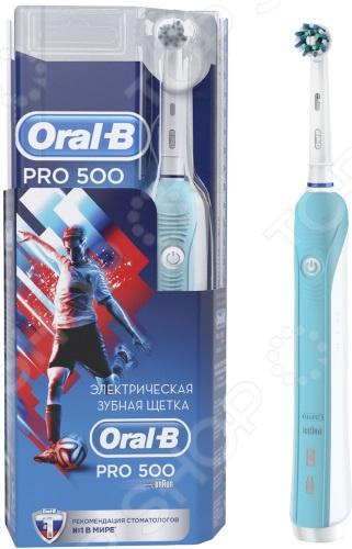 Щетка зубная электрическая Oral-B 500/D16.513.U Cross Football