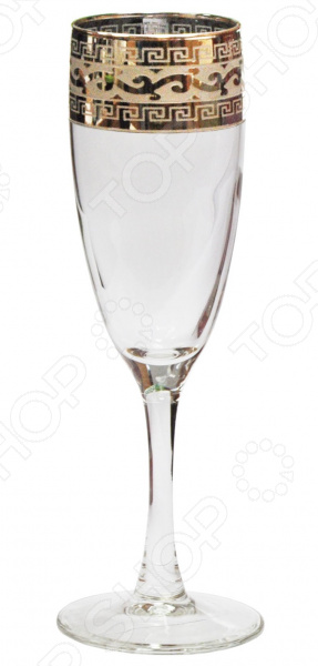 Набор бокалов для шампанского Гусь Хрустальный «Эдем. Версаче» набор бокалов для бренди гусь хрустальный золотой карат