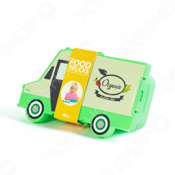 Ланч-бокс Doiy Food Truck Organic