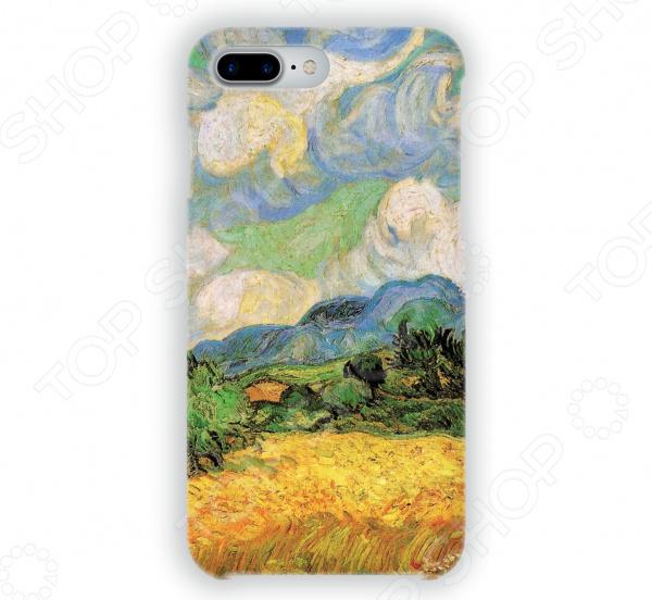 Чехол для iPhone 7 Plus Mitya Veselkov «Ван Гог: Пшеничное Поле» чехол для iphone 5 mitya veselkov ван гог ночь над роной