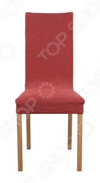 чехлы для мебели еврочехол еврочехол на сиденье стула 2 шт мадрид шоколадный Натяжной чехол на стул Еврочехол «Мираж»