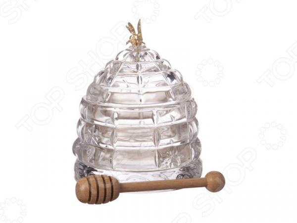 Банка для меда с палочкой Muza 355-003 стоимость