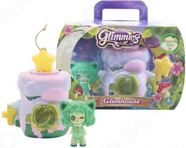 Набор игровой для девочки Glimmies Volpessa «Домик Глимхаус»