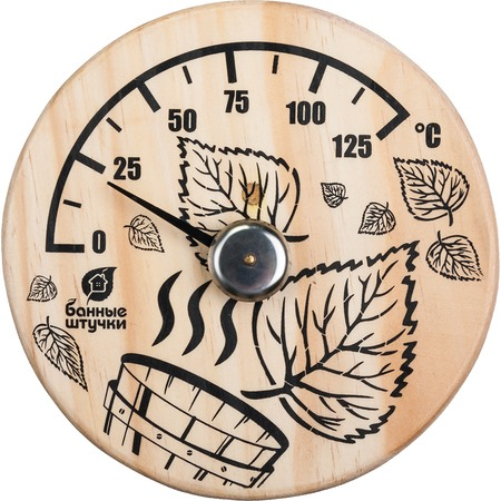 Купить Термометр для бани и сауны Банные штучки «Листья»
