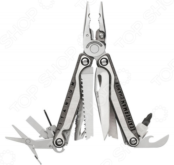 Мультитул LEATHERMAN Charge Plus TTI 832528 мультитул leatherman charge plus tti чардж плюс тти