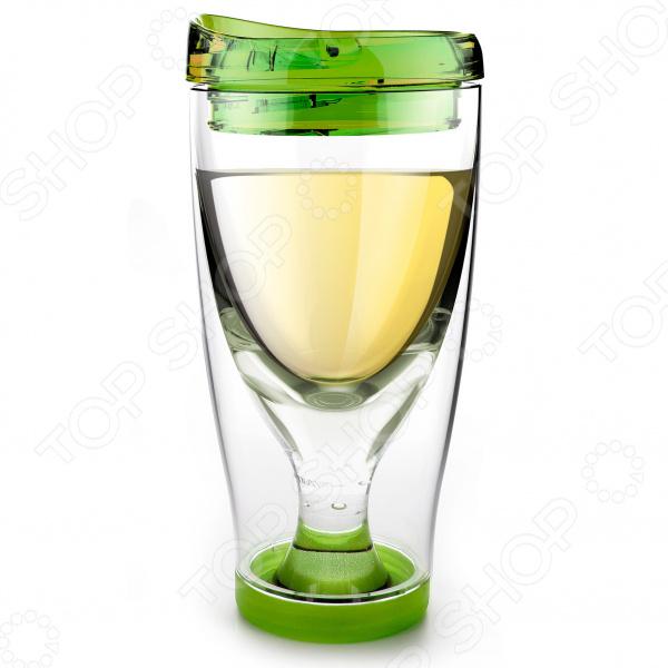 Термобокал Asobu Ice vino 2go стакан asobu vino opener цвет голубой 350 мл