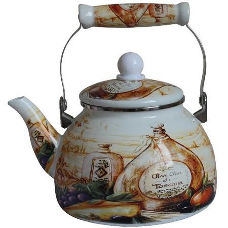 Купить Чайник эмалированный Mercury MC-7523