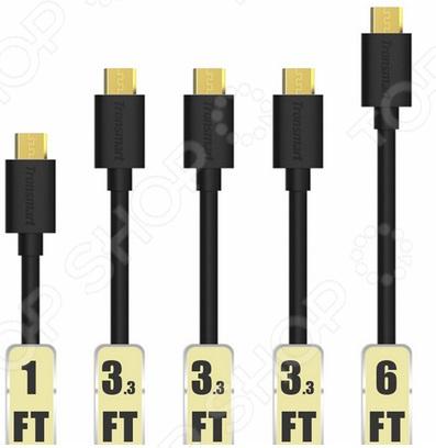 Набор кабелей Tronsmart MUPP6 Premium USB