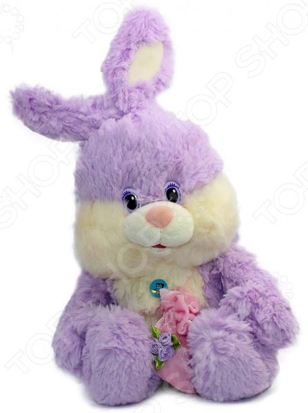 Мягкая игрушка со звуком Bradex «Зайка»