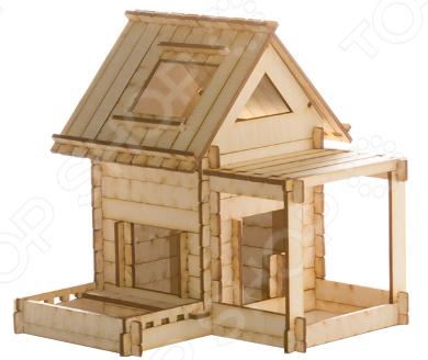 Конструктор деревянный Model.Toys «Домик из панелек»