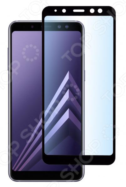Стекло защитное skinBOX Full Screen для Samsung Galaxy A8/A5 (2018)