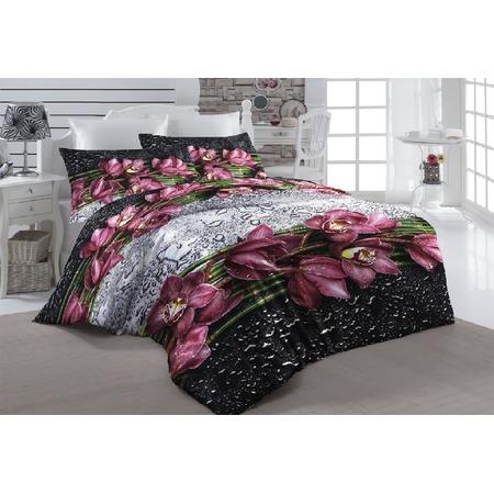 Комплект постельного белья ТамиТекс «Орхидея на стекле». Евро