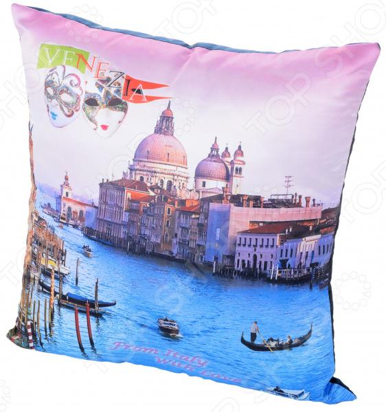 Подушка декоративная Gift'n'home «Венеция» подушки на стул dorothy s home сидушка декоративная 37 42 принт венеция