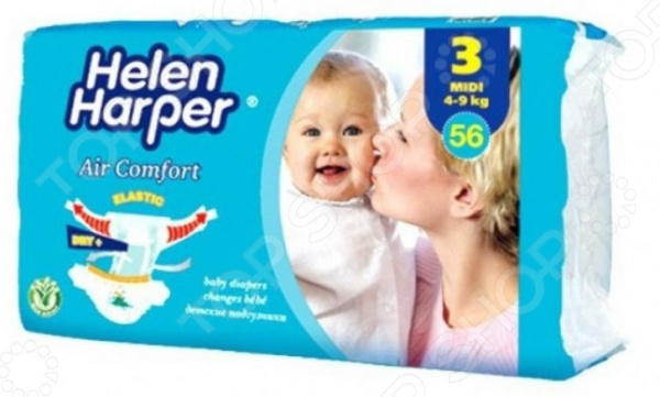 Подгузники Helen Harper Air comfort midi (4-9 кг)