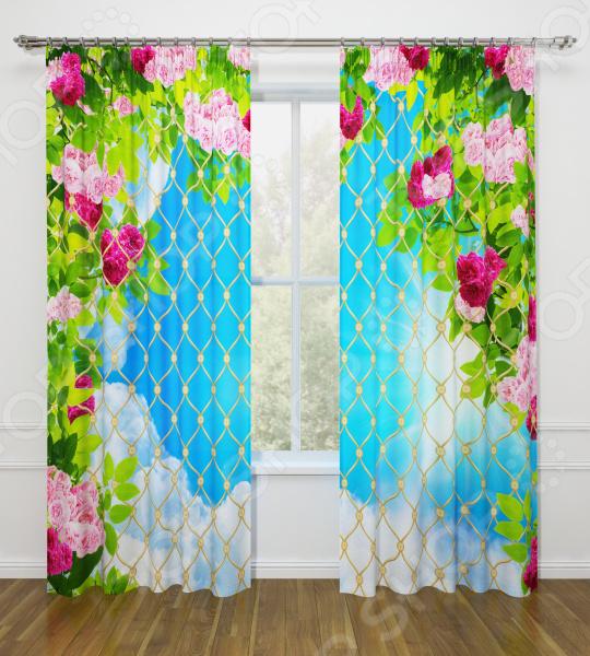 все цены на Фотошторы Стильный дом «Роскошные цветы» онлайн