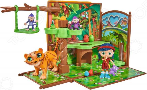 Игровой набор с фигурками Simba «Висспер. Мир лесов»