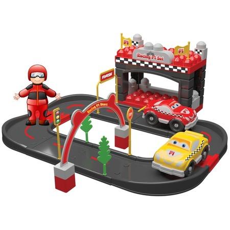 Купить Игровой набор Ucar Oyuncak Racing F1. Количество предметов: 50 шт