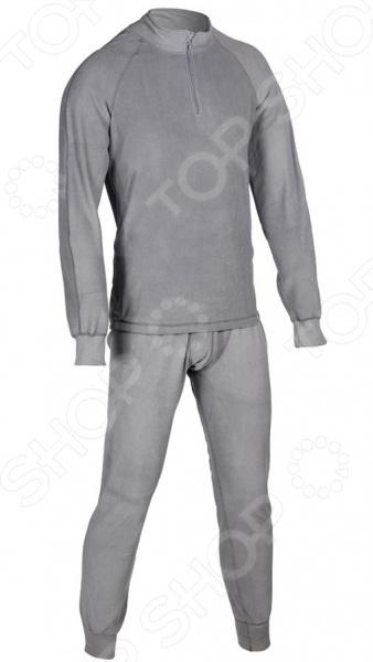 Комплект термобелья Huntsman H-100-zip. Цвет: серый 1