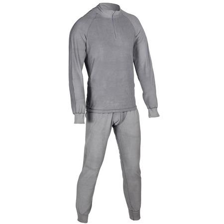 Купить Комплект термобелья Huntsman H-100-zip. Цвет: серый