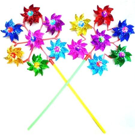 Купить Игрушка-вертушка Shantou Gepai голографическая объемная «Цветы». В ассортименте