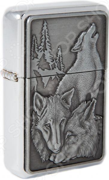 Zakazat.ru: Зажигалка Mitya Veselkov Three Wolfs