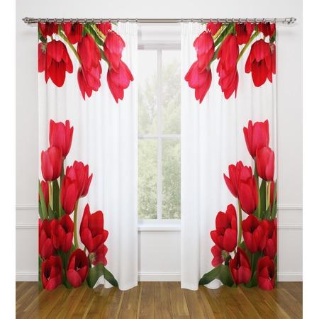 Купить Фотошторы Стильный дом «Тюльпаны»