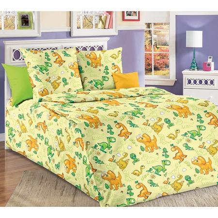Купить Детский комплект постельного белья ТексДизайн «Динозаврики»