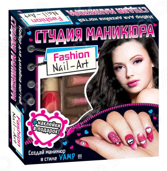 Игровой набор для девочки Ранок «Студия маникюра. Вамп» набор для маникюра brand new off 36w canni 6 bl 237