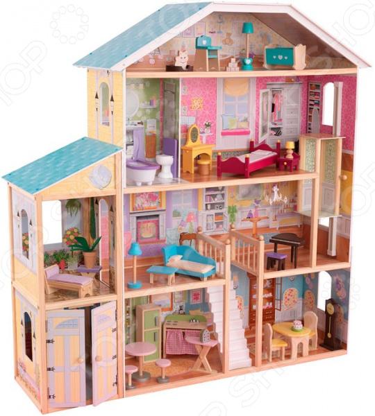 Кукольный дом с аксессуарами KidKraft «Великолепный особняк»