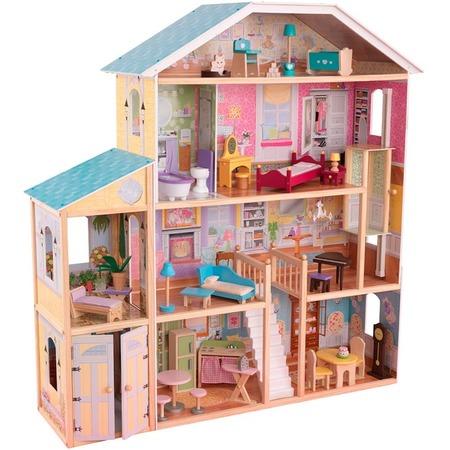 Купить Кукольный дом с аксессуарами KidKraft «Великолепный особняк»