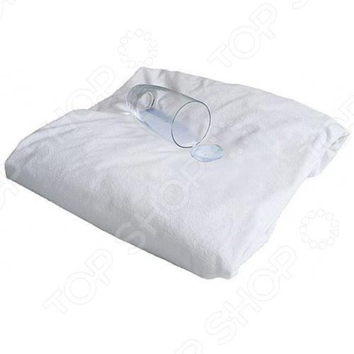Наматрасник непромокаемый. 2-спальный. Размер: 160х200 см