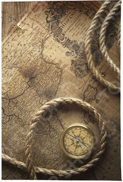 Обложка для автодокументов кожаная Mitya Veselkov «Карта путешественника»