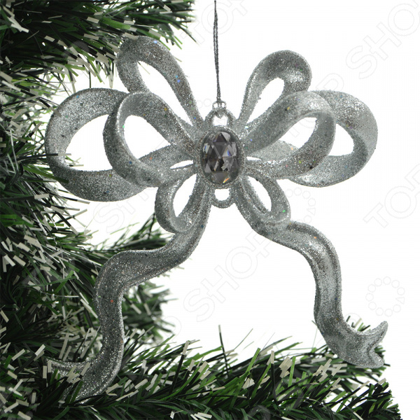 Новогоднее украшение Crystal Deco «Бант»
