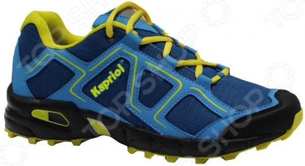 Кроссовки KAPRIOL Cross. Цвет: синий, желтый