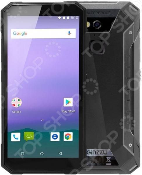 Смартфон защищенный Ginzzu RS9602B защищенный смартфон ginzzu rs71d