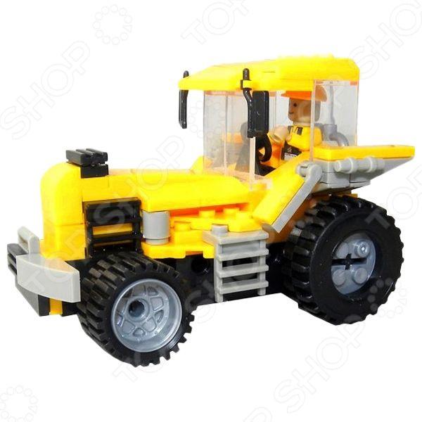 Конструктор игровой 1 Toy «Строительная техника. Трактор»