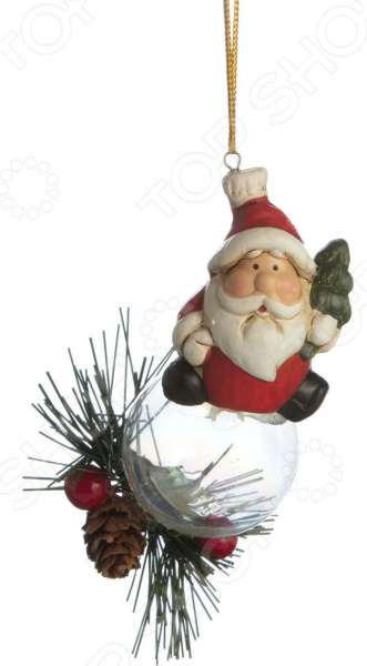 Фигурка декоративная Lefard «Дед Мороз» 156-466 фигурка дед мороз с колокольчиком 20 см