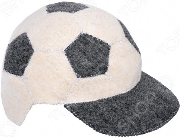 Шапка для бани и сауны Hot Pot «Футбольный мяч» 41271