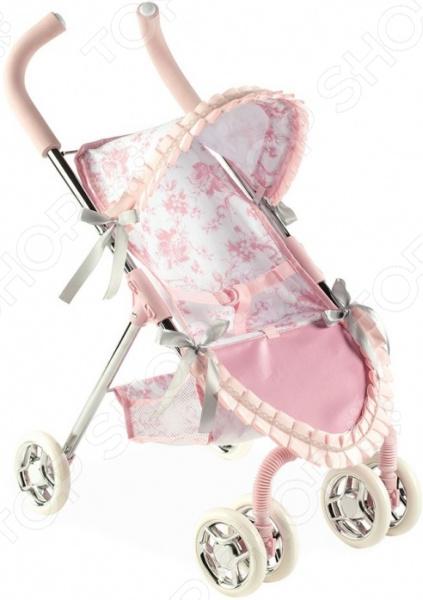 Коляска для кукол Arias Valentina Т13755 прогулочная коляска для кукол arias т13755