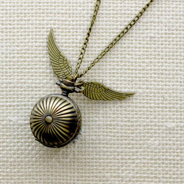 Кулон-часы Mitya Veselkov «Крылатый шарик»