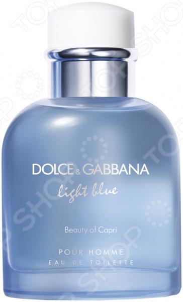 Туалетная вода для мужчин Dolce&Gabbana Light Blue Beauty Of Capri, 40 мл
