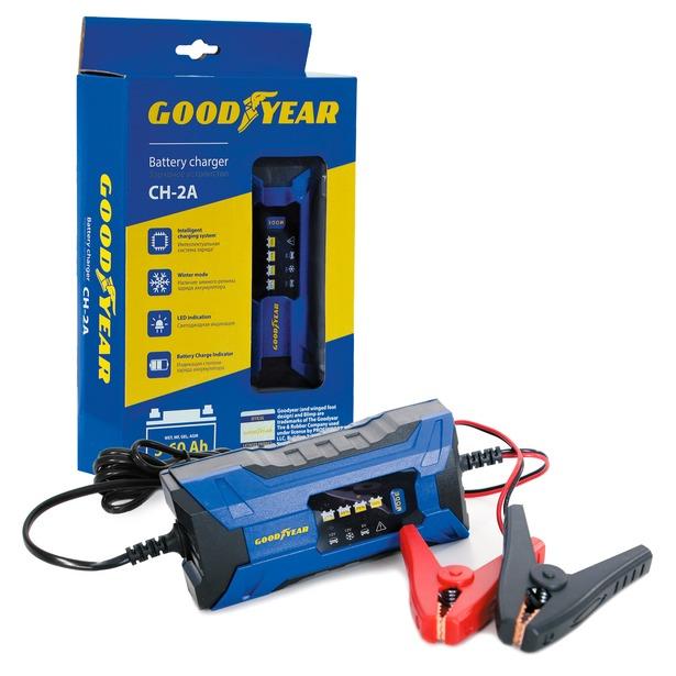 фото Устройство зарядное для автомобильных аккумуляторов Goodyear CH-2A