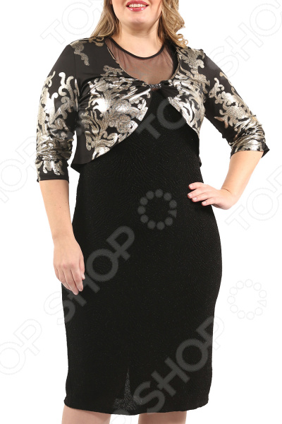 Платье с болеро EleganceStyle «Сиеста»