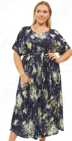 Платье Матекс «Цветочное счастье». Цвет: желтый