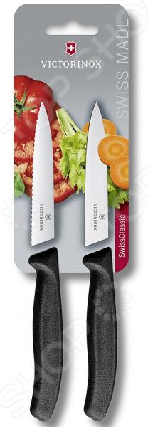 Набор ножей Victorinox Swiss Classic. Цвет: черный victorinox набор ножей для стейков swiss classic 6 пр 11 см 6 7232 6 victorinox
